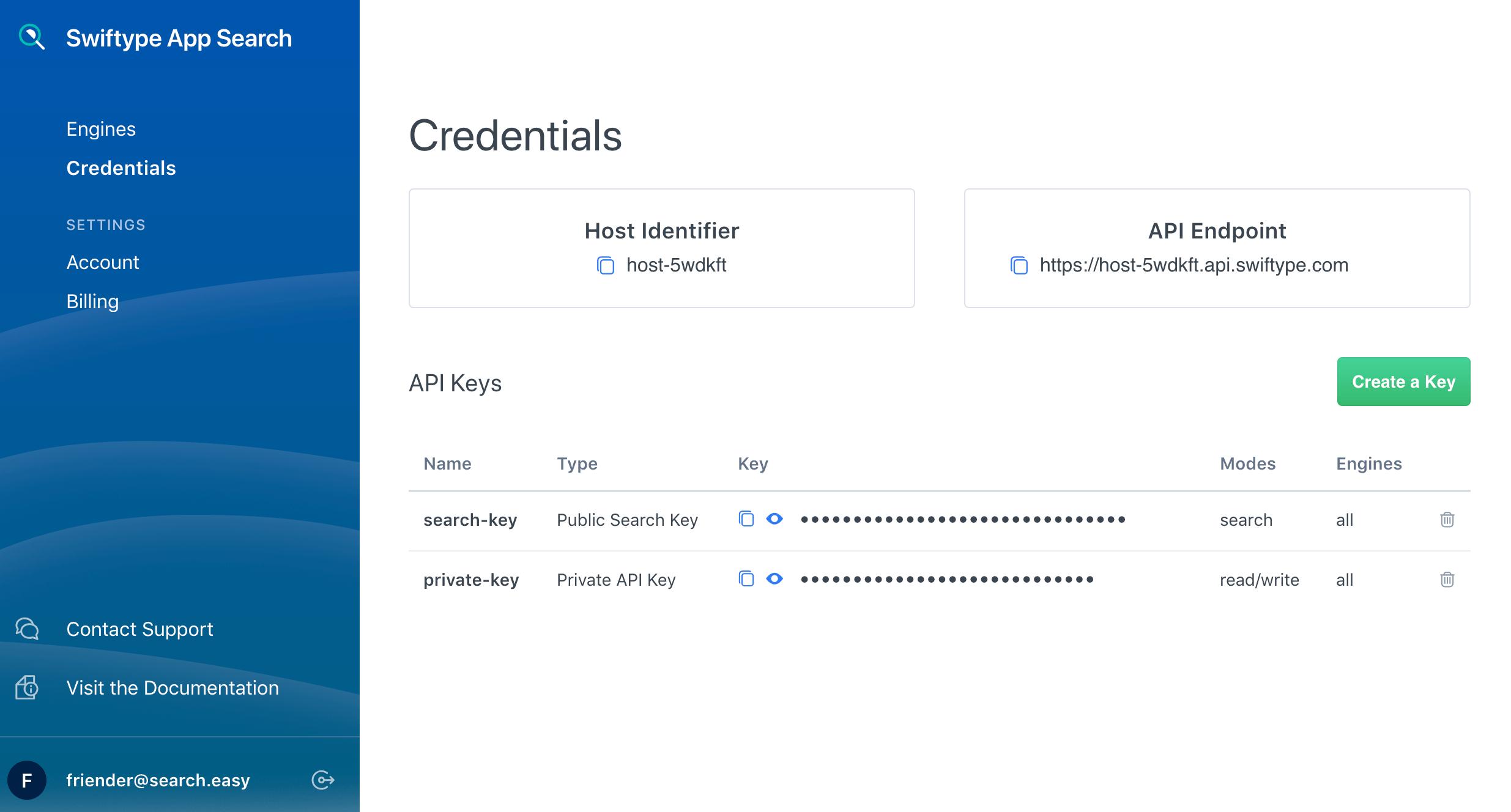 Authentication   Swiftype Documentation
