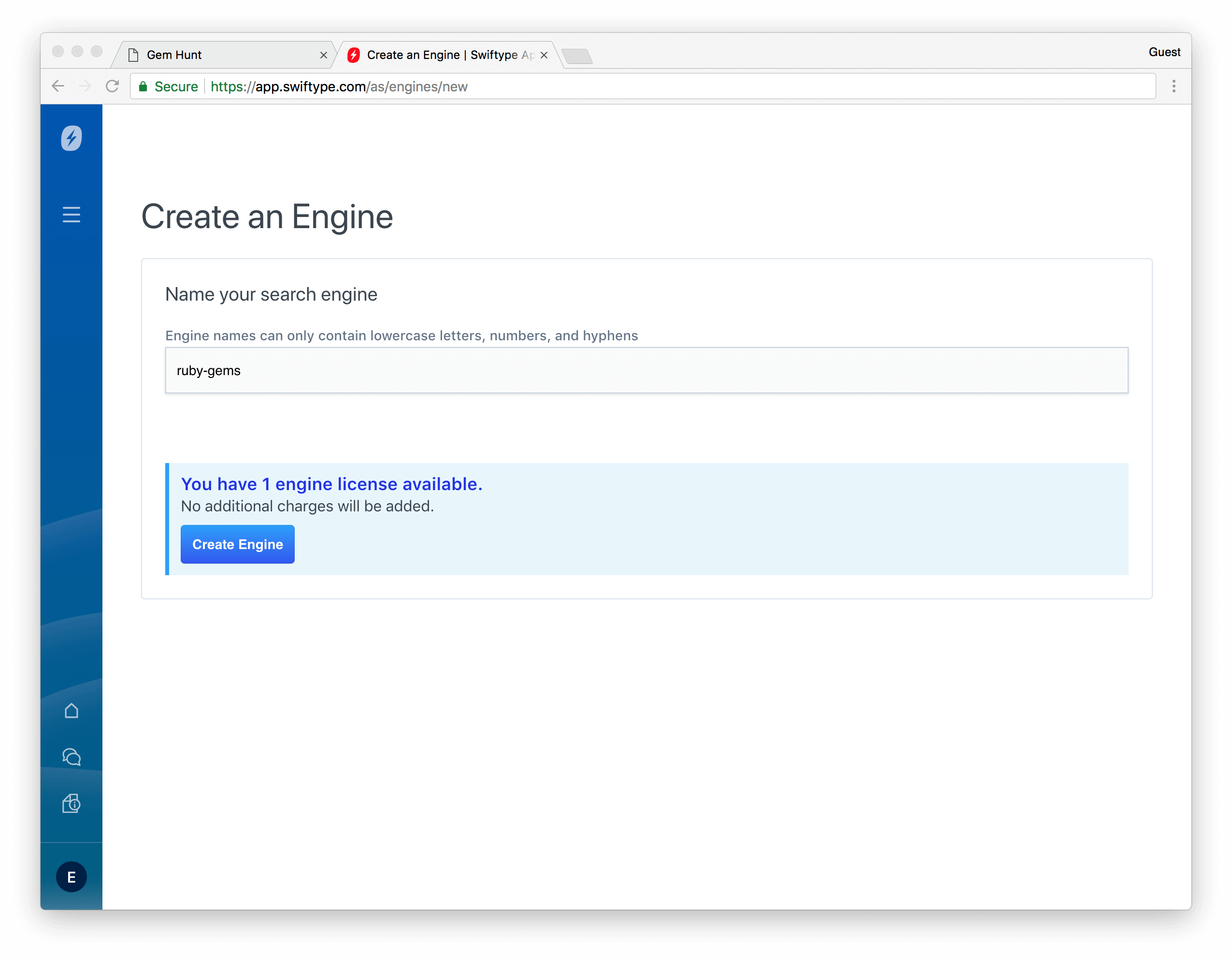 Create Engine