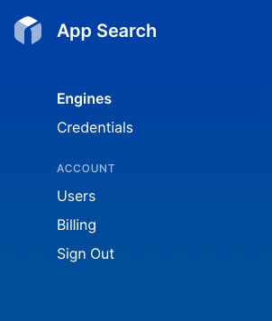 My account is a dropdown menu in the top right.